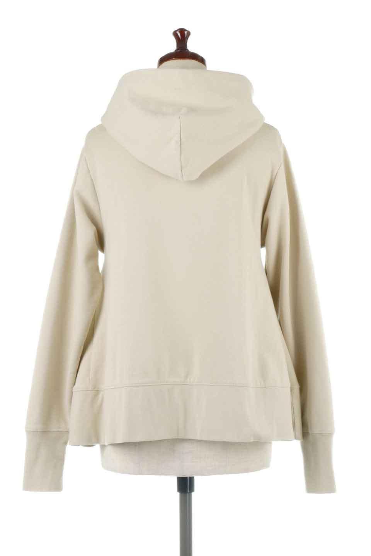 SweatFlareHoodedParka裾フレア・スウェットパーカ大人カジュアルに最適な海外ファッションのothers(その他インポートアイテム)のトップスやカットソー。肉厚のコットン生地を使用したスウェットパーカ。ウォッシュを掛けてビンテージ感をだした本格派。/main-4