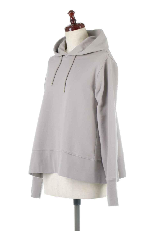 SweatFlareHoodedParka裾フレア・スウェットパーカ大人カジュアルに最適な海外ファッションのothers(その他インポートアイテム)のトップスやカットソー。肉厚のコットン生地を使用したスウェットパーカ。ウォッシュを掛けてビンテージ感をだした本格派。/main-6