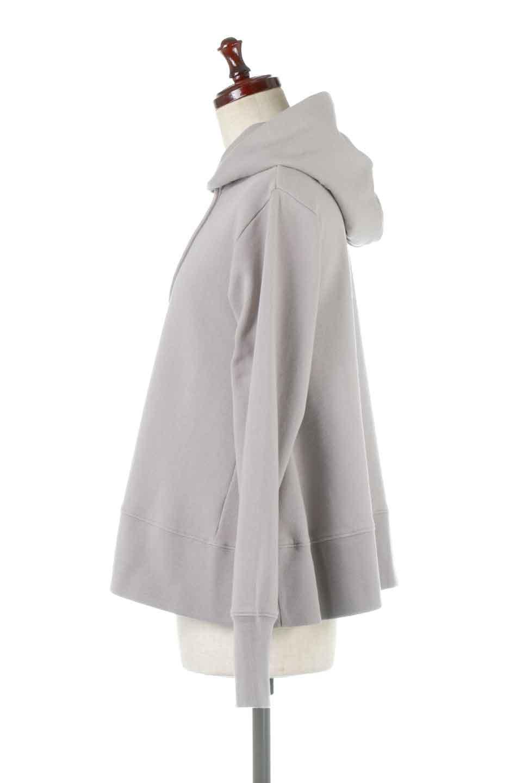 SweatFlareHoodedParka裾フレア・スウェットパーカ大人カジュアルに最適な海外ファッションのothers(その他インポートアイテム)のトップスやカットソー。肉厚のコットン生地を使用したスウェットパーカ。ウォッシュを掛けてビンテージ感をだした本格派。/main-7