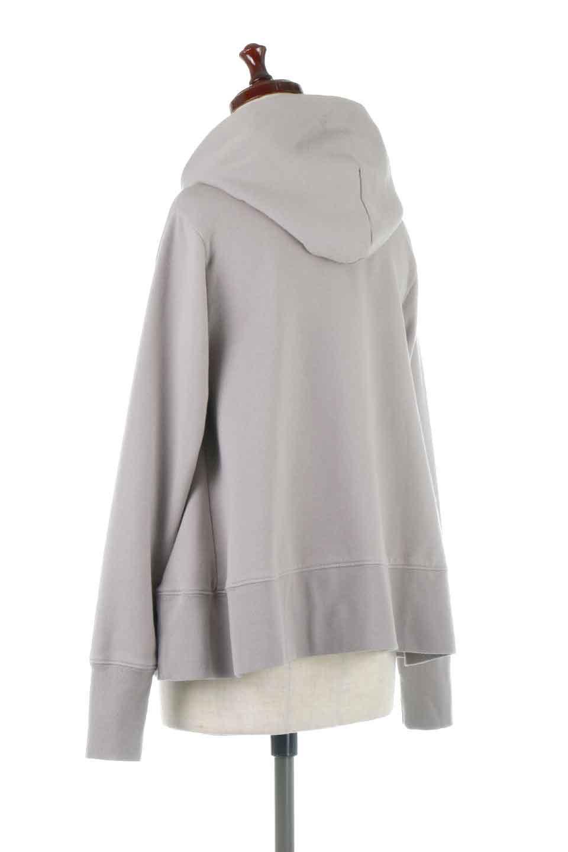 SweatFlareHoodedParka裾フレア・スウェットパーカ大人カジュアルに最適な海外ファッションのothers(その他インポートアイテム)のトップスやカットソー。肉厚のコットン生地を使用したスウェットパーカ。ウォッシュを掛けてビンテージ感をだした本格派。/main-8