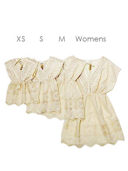 roomIVYのNanaKids(Ivory)/ビーチでのリゾートファッションブランド、roomIVY(ルームアイビー)のワンピースやミニワンピース。リゾートワンピースNanaのキッズバージョンです。子供服用にコストダウンなどは一切無し。/main-8