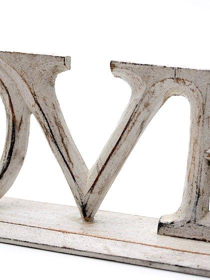 roomIVYのwoodstand(Love)/ビーチでのリゾートファッションブランド、roomIVY(ルームアイビー)のインテリアや。roomIVYのデザイナーさんがセレクトしてくれたウッドスタンドです。掘りからペイントまですべて手作業で仕上げられています。/main-6