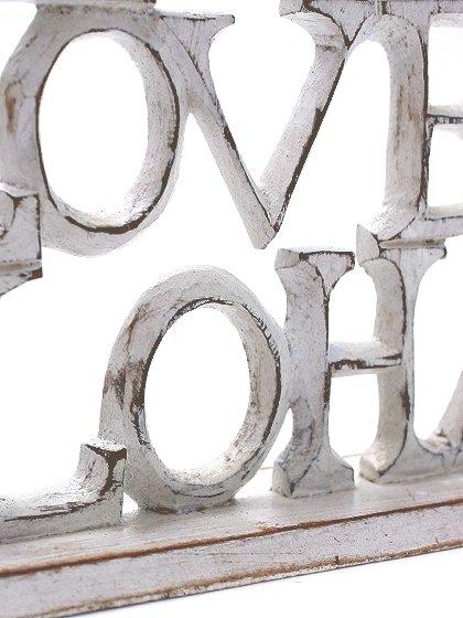 roomIVYのwoodstand(LoveLiveAloha)/ビーチでのリゾートファッションブランド、roomIVY(ルームアイビー)のインテリアや。roomIVYのデザイナーさんがセレクトしてくれたウッドスタンドです。掘りからペイントまですべて手作業で仕上げられています。/main-7