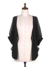 海外ファッションや大人カジュアルに最適なインポートセレクトアイテムのMid Sleeve Open Cardigan