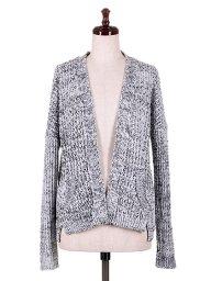 海外ファッションや大人カジュアルにオススメなインポートセレクトアイテムSpain直輸入のWhite Mix Knitted Cardigan