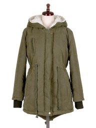 海外ファッションや大人カジュアルに最適なインポートセレクトアイテムのArmy Green Fish Tail Coat