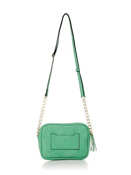 meliebiancoのLucia(Mint)/海外ファッション好きにオススメのインポートバッグとかばん、MelieBianco(メリービアンコ)のバッグやショルダーバッグ。ちょっとしたお出かけにピッタリサイズのミニポーチ。お財布(*1)とスマホだけ持って行きたい時などに重宝しそうです。/main-3
