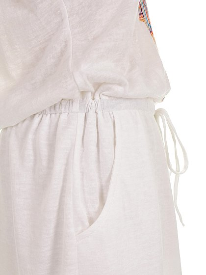 L.A.直輸入のEmbroideredBohoShirtDress大人カジュアルに最適な海外ファッションのothers(その他インポートアイテム)のワンピースやミニワンピース。Tシャツ素材のお手軽ワンピース。Boho風のアズテック柄の刺繍が可愛いアイテムです。/main-10