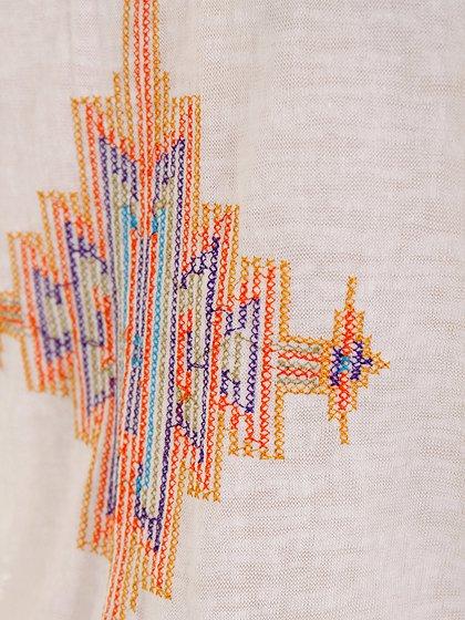 L.A.直輸入のEmbroideredBohoShirtDress大人カジュアルに最適な海外ファッションのothers(その他インポートアイテム)のワンピースやミニワンピース。Tシャツ素材のお手軽ワンピース。Boho風のアズテック柄の刺繍が可愛いアイテムです。/main-7