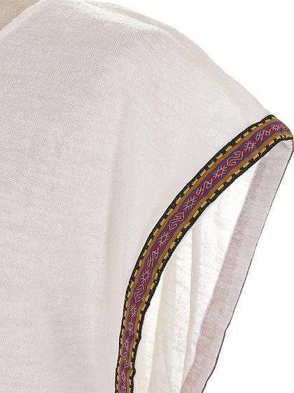L.A.直輸入のEmbroideredBohoShirtDress大人カジュアルに最適な海外ファッションのothers(その他インポートアイテム)のワンピースやミニワンピース。Tシャツ素材のお手軽ワンピース。Boho風のアズテック柄の刺繍が可愛いアイテムです。/main-9
