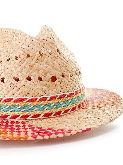 WindmillHat大人カジュアルに最適な海外ファッションのothers(その他インポートアイテム)のハット&キャップや。ナチュラルカラーのブリムに暖色系のアクセントが風車の様なストローハット。この可愛さは帽子メインのコーディネートを考えたくなりそうです。/main-5