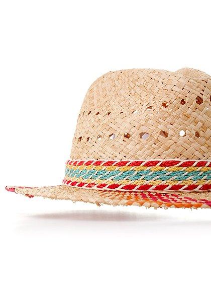 WindmillHat大人カジュアルに最適な海外ファッションのothers(その他インポートアイテム)のハット&キャップや。ナチュラルカラーのブリムに暖色系のアクセントが風車の様なストローハット。この可愛さは帽子メインのコーディネートを考えたくなりそうです。/main-6