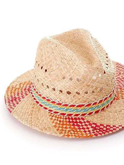 WindmillHat大人カジュアルに最適な海外ファッションのothers(その他インポートアイテム)のハット&キャップや。ナチュラルカラーのブリムに暖色系のアクセントが風車の様なストローハット。この可愛さは帽子メインのコーディネートを考えたくなりそうです。/main-7