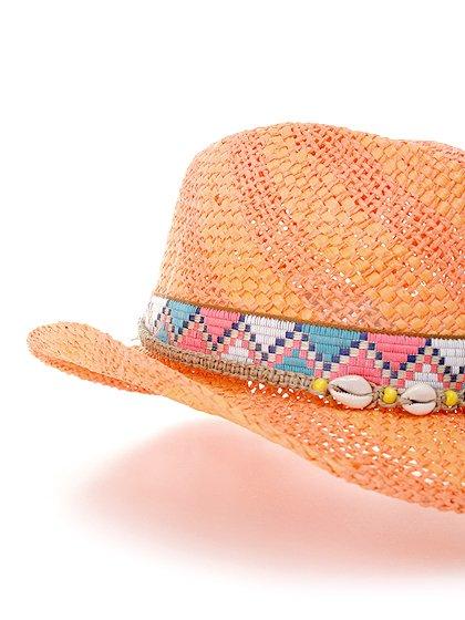 WesternHatEnzo(flamingo)大人カジュアルに最適な海外ファッションのothers(その他インポートアイテム)のハット&キャップや。コンパクトなブリム(ツバ)のウエスタンハット。テンガロンハットは可愛いけどちょっと派手かな?と言う皆さんにも抵抗なく楽しんで頂けるデザインです。/main-6