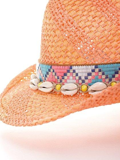 WesternHatEnzo(flamingo)大人カジュアルに最適な海外ファッションのothers(その他インポートアイテム)のハット&キャップや。コンパクトなブリム(ツバ)のウエスタンハット。テンガロンハットは可愛いけどちょっと派手かな?と言う皆さんにも抵抗なく楽しんで頂けるデザインです。/main-9