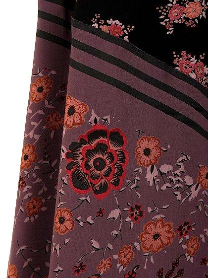 FreePeopleのPocketfulOfWildflowersPrintedDress(BlackCombo)/世界中のセレブファッション好きに大人気のFreePeople(フリーピープル)のワンピースやマキシワンピース。上質なマテリアルをスッキリシルエットに仕上げたマキシワンピースです。甘くなりがちな花柄を大人っぽく、そして遊び心あるデザインでまとめたアイテム。/main-15