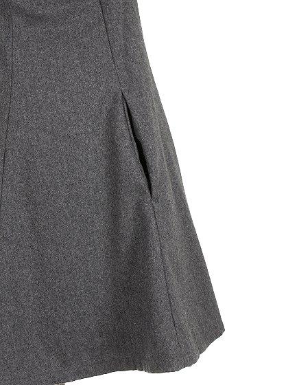 FreePeopleのGemma'sFavoriteDress/世界中のセレブファッション好きに大人気のFreePeople(フリーピープル)のワンピースやミニワンピース。何とも可愛らしいジャンパースカートがフリーピープルから入荷しました。着まわしが利くグレーをチョイスしました。/main-11
