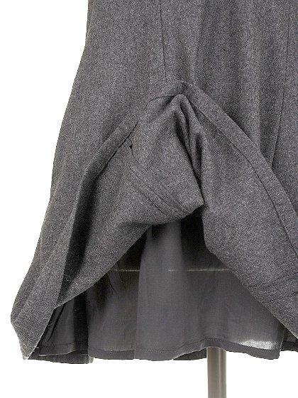 FreePeopleのGemma'sFavoriteDress/世界中のセレブファッション好きに大人気のFreePeople(フリーピープル)のワンピースやミニワンピース。何とも可愛らしいジャンパースカートがフリーピープルから入荷しました。着まわしが利くグレーをチョイスしました。/main-12