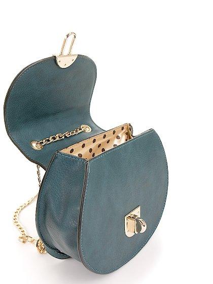 meliebiancoのBelle(Peacock)/海外ファッション好きにオススメのインポートバッグとかばん、MelieBianco(メリービアンコ)のバッグやショルダーバッグ。クラシカルな雰囲気のミニショルダーバッグ。レトロなワンピースなどと相性が良さそうなデザインです。/main-11
