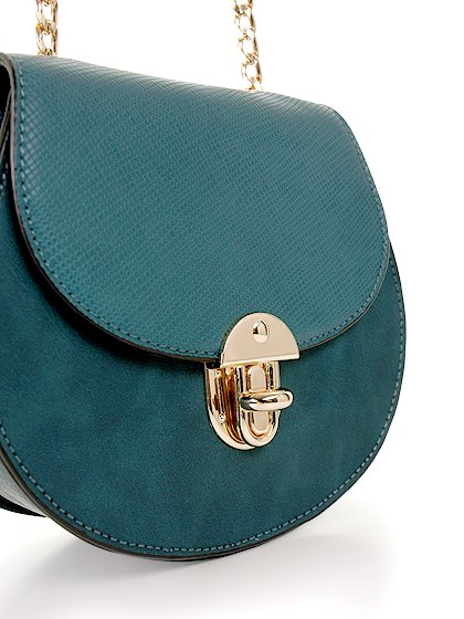 meliebiancoのBelle(Peacock)/海外ファッション好きにオススメのインポートバッグとかばん、MelieBianco(メリービアンコ)のバッグやショルダーバッグ。クラシカルな雰囲気のミニショルダーバッグ。レトロなワンピースなどと相性が良さそうなデザインです。/main-6