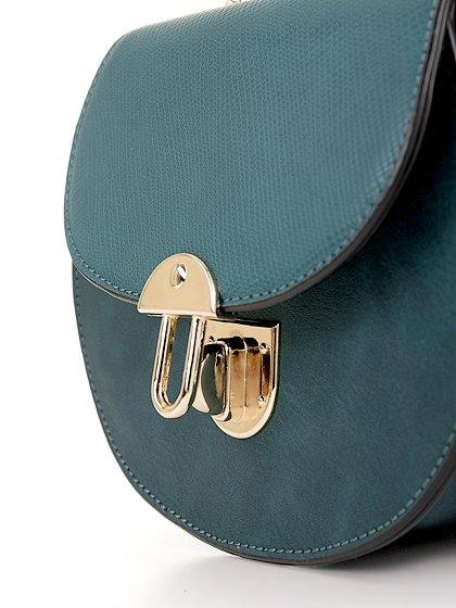 meliebiancoのBelle(Peacock)/海外ファッション好きにオススメのインポートバッグとかばん、MelieBianco(メリービアンコ)のバッグやショルダーバッグ。クラシカルな雰囲気のミニショルダーバッグ。レトロなワンピースなどと相性が良さそうなデザインです。/main-7