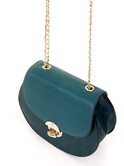 meliebiancoのBelle(Peacock)/海外ファッション好きにオススメのインポートバッグとかばん、MelieBianco(メリービアンコ)のバッグやショルダーバッグ。クラシカルな雰囲気のミニショルダーバッグ。レトロなワンピースなどと相性が良さそうなデザインです。/main-8