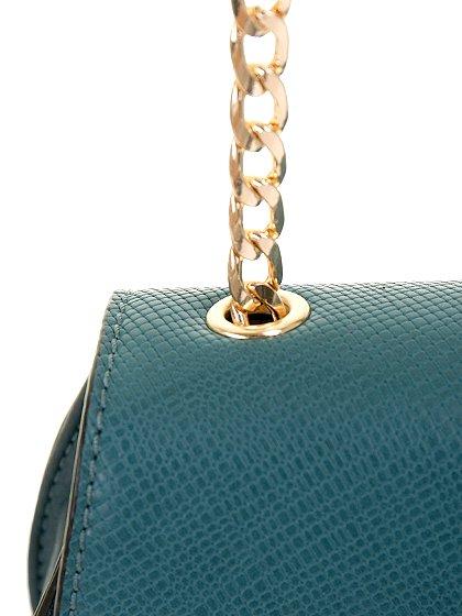 meliebiancoのBelle(Peacock)/海外ファッション好きにオススメのインポートバッグとかばん、MelieBianco(メリービアンコ)のバッグやショルダーバッグ。クラシカルな雰囲気のミニショルダーバッグ。レトロなワンピースなどと相性が良さそうなデザインです。/main-9