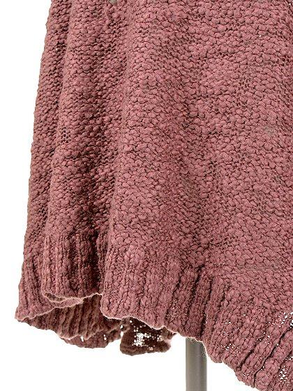 FreePeopleのPrettyPointelleVee(Rose)/世界中のセレブファッション好きに大人気のFreePeople(フリーピープル)のトップスやニット・セーター。毎年人気のオーバーサイズドニット。スキニーボトムやゆったりシルエットのスカートなど、ボトムを問わず合わせられます。/main-11