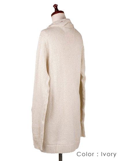 roomIVYのAmyJKT/ビーチでのリゾートファッションブランド、roomIVY(ルームアイビー)のアウターや。大人気だったケーブルニットのAmyがカーデになって登場しました。身頃に沿ったケーブル編みがポケットにも施されています。/main-14