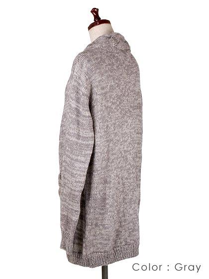 roomIVYのAmyJKT/ビーチでのリゾートファッションブランド、roomIVY(ルームアイビー)のアウターや。大人気だったケーブルニットのAmyがカーデになって登場しました。身頃に沿ったケーブル編みがポケットにも施されています。/main-24