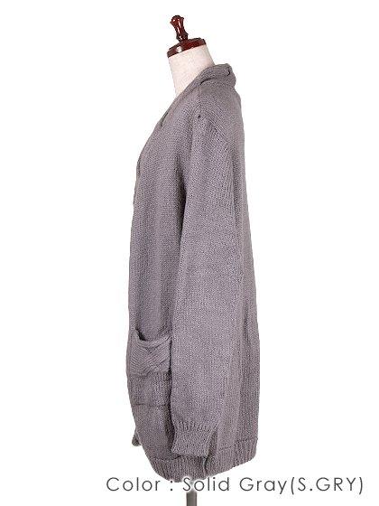 roomIVYのAmyJKT/ビーチでのリゾートファッションブランド、roomIVY(ルームアイビー)のアウターや。大人気だったケーブルニットのAmyがカーデになって登場しました。身頃に沿ったケーブル編みがポケットにも施されています。/main-28