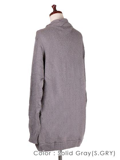 roomIVYのAmyJKT/ビーチでのリゾートファッションブランド、roomIVY(ルームアイビー)のアウターや。大人気だったケーブルニットのAmyがカーデになって登場しました。身頃に沿ったケーブル編みがポケットにも施されています。/main-29